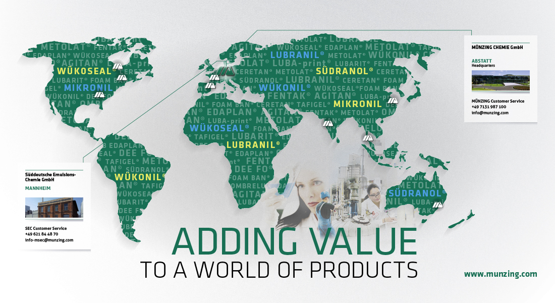 Münzing Chemie GmbH 'Adding value to a world of products'